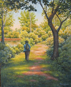 """Nature Walk"" by Mary F. Kokoski"